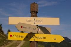 Rudersburg und Wetterfahne